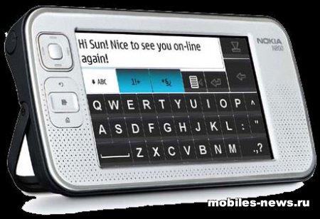 Nokia N800 Интернет-таблетка показали