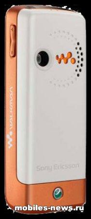 Sony Ericsson W200 Walkman телефон музыку обнародовал